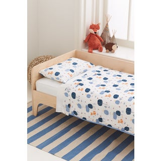 aden + anais Into The Woods Organic Toddler Bedding Set