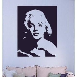 Marilyn Monroe Vinyl Sticker Wall Art