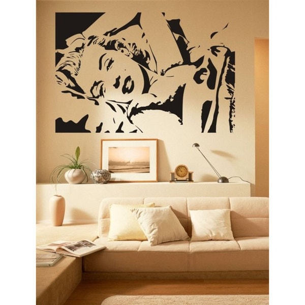 Marilyn Monroe Vinyl Sticker Wall Art