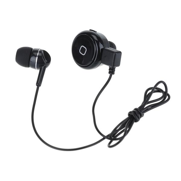 Patuoxun Black Bluetooth 4.0 Wireless Mini In-ear Headset with Mic