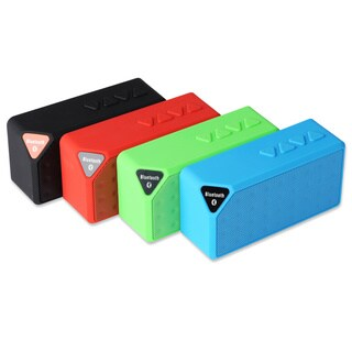 Patuoxun Mini Wireless Bluetooth Speaker with USB and SD Card Inputs