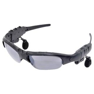 Patuoxun Black Bluetooth Wireless Headphone Sunglasses