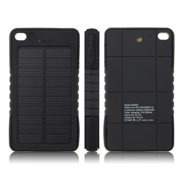 Patuoxun Waterproof Solar Panel Power Bank Charger