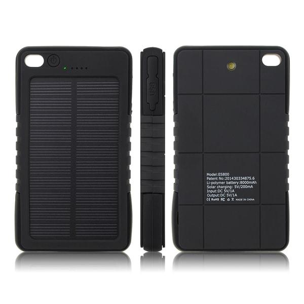Patuoxun Waterproof Solar Panel Power Bank Charger