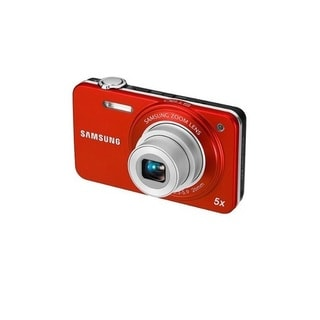 Samsung EC-ST90ZZBPOCA Digital Camera with 14.2 MP and 5x Optical Zoom Orange