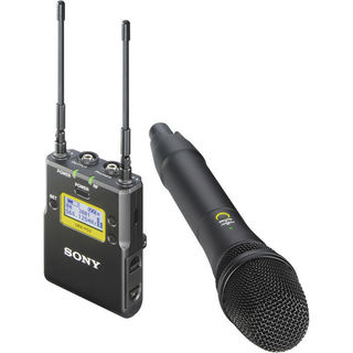 Sony UWP-D12 Integrated Digital Wireless Handheld Microphone ENG System (UHF Channels 42/51: 638 to 698 MHz)