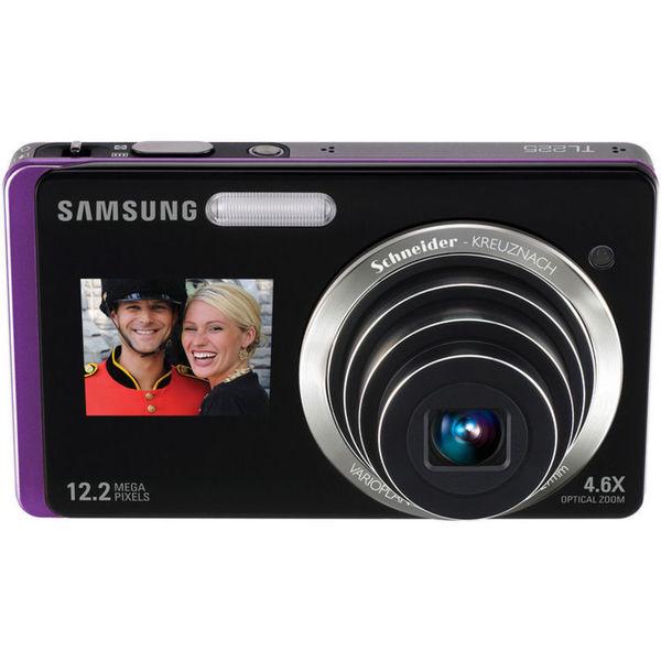 Samsung DualView TL225 Digital Camera (Purple)