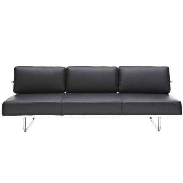 Charles Stainless Steel Tubular Convertible Sofa