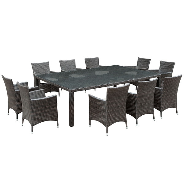 Invigorating 11-piece Outdoor Patio Dining Set