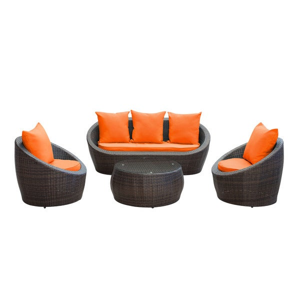 Confess 4-piece Outdoor Patio Sofa Set