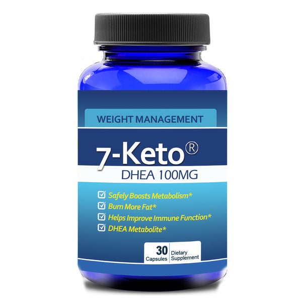 Totally Products #1 7-Keto DHEA Full Potency 100mg (30 Capsules)