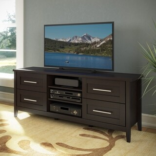"CorLiving TJK-681-B Jackson TV Bench in Espresso Finish for 60"" TV"