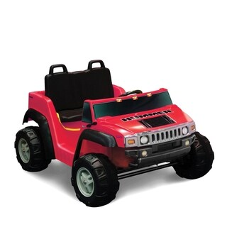 Kid Motorz Hummer H2 Red Two Seat Ride-on
