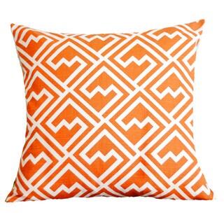 Tangelo Maze Pillow Cover
