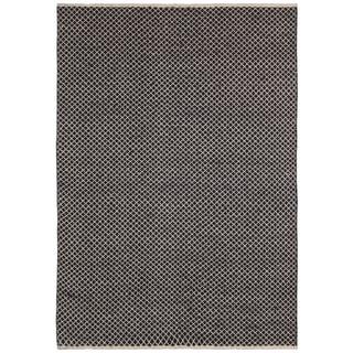 Brown Jute Squares (9'x12') Flat Weave Rug
