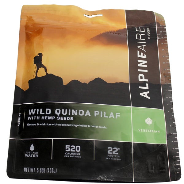 Alpine Aire Foods Wild Quinoa Pilaf with Hemp Crispies ( Serves 2)