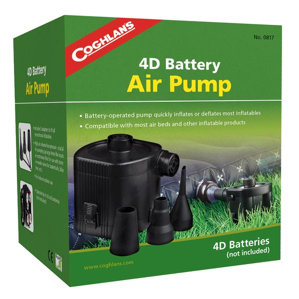 Coghlans 4D Battery Air Pump