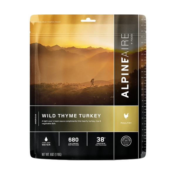 Alpine Aire Foods Wild Thyme Turkey ( Serves 2)