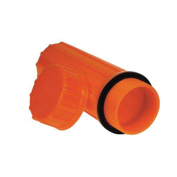 Ultimate Survival Technologies Waterproof Match Case Orange