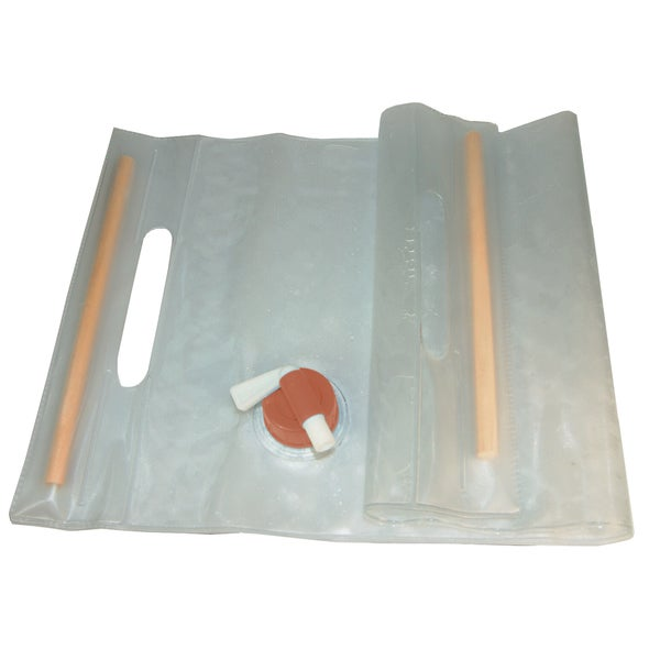 Ultimate Survival Technologies Water Carrier Clear Roll-Up 10 Liter