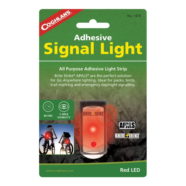 Coghlans Adhesive Signal Light Red