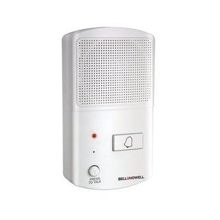 Bell + Howell Wireless Doorman Doorbell with Talking and Listening Intercom