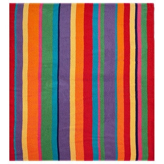 Celebration Velour Beach Blanket/ Towel (58 inches wide x 68 inches long)