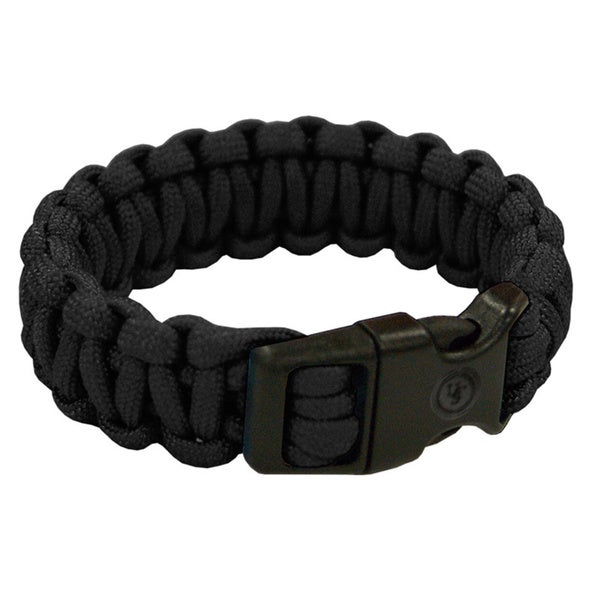 Ultimate Survival Technologies 7-inch Black Survival Bracelet