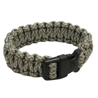 Ultimate Survival Technologies 8-inch Green Camo Survival Bracelet