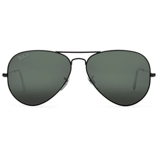 Ray-Ban Polarized Aviator Sunglasses - 62mm