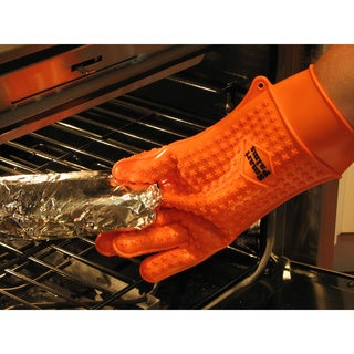 Smart Palms Pro Silicone Barbecue/ Grilling/ Oven Glove - Large