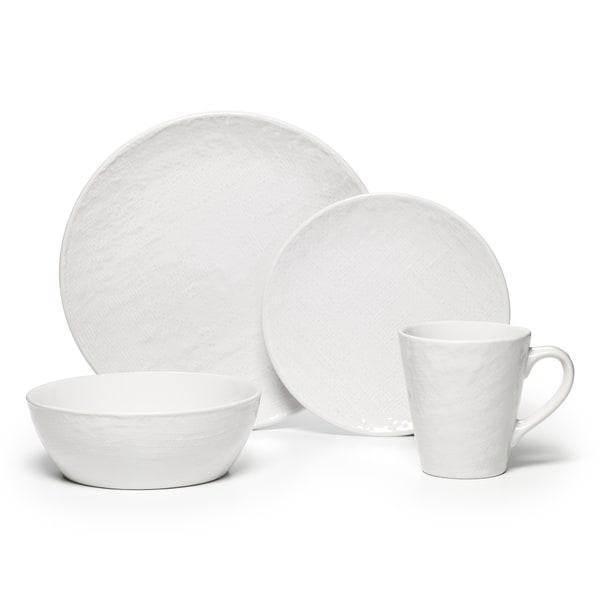 Pfaltzgraff Landen 16-piece White Dinnerware Set 15471358