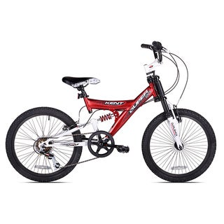 Kent 20-inch Super 20 Boys Dual Suspension Mountain Bike