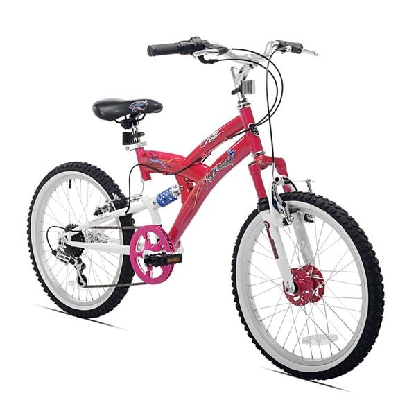 20-inch Rock Candy Girls Dual Suspension Mountain Bike