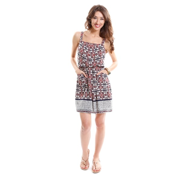 Hadari Women's Tribal Print Dress