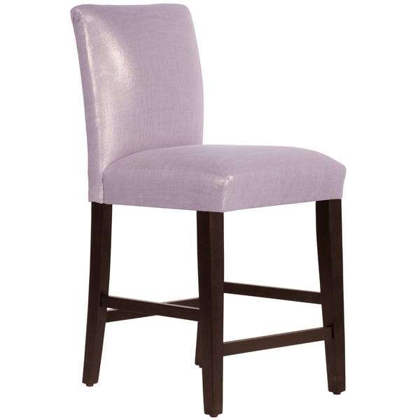 Made to Order Uptown Purple Counter Stool