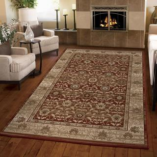 """Empire Dumfries Red Area Rug (7'10"""" x 10'10"""")"""