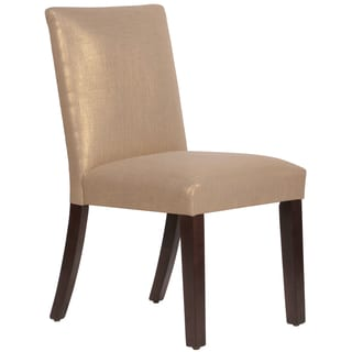 Skyline Furniture Uptown Dining Chair in Gauze Gold