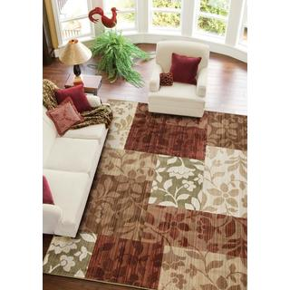 "Anthology Vivian Red Area Rug (5'3"" x 7'6"")"