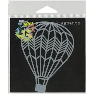 Crafter's Workshop Fragments Templates 4inX4inHot Air Balloon