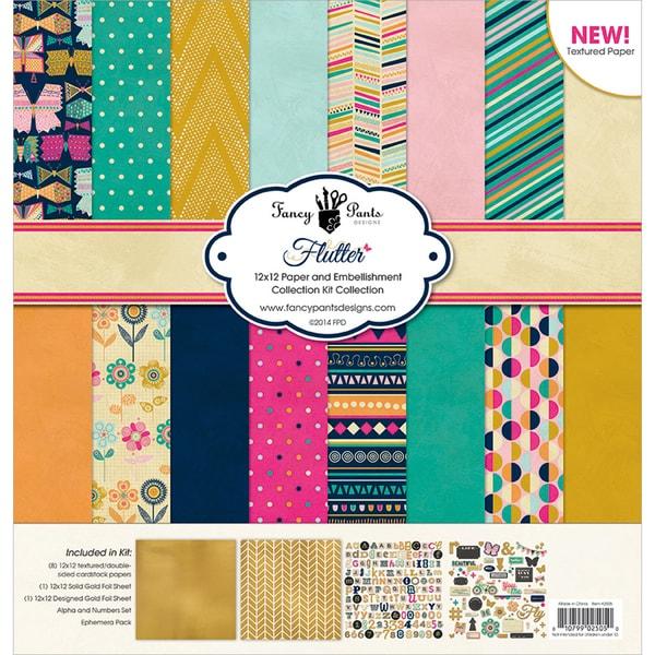 Fancy Pants Designs Collection Kit 12inX12inFlutter