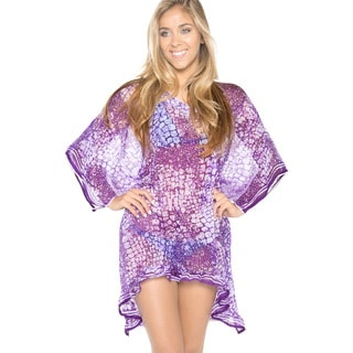 La Leela Sheer Chiffon Swim Cover-up