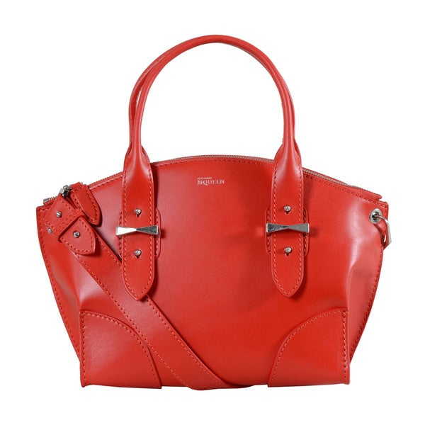 Alexander McQueen Small Red Legend Handbag