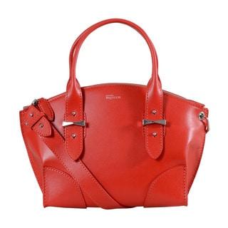 Alexander McQueen Small Red Legend Handbag