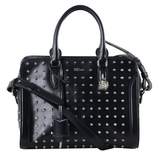 Alexander McQueen Small Padlock Zip Around Handbag