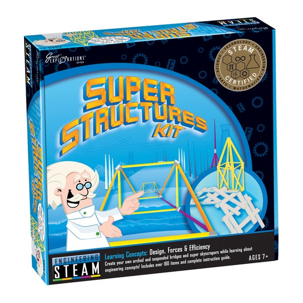 STEAM Learning System Engineering Super Structures Kit