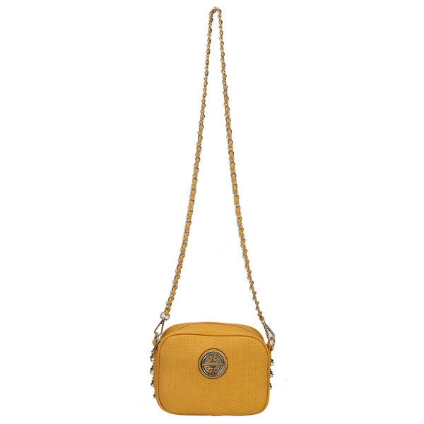 Diophy Studded Crossbody Purse