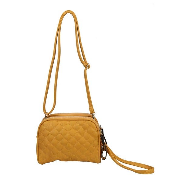Diophy Quilted Crossbody Purse