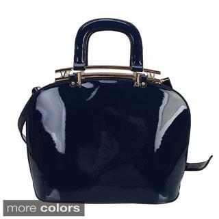 Rimen & Co Patent Double Strap Handbag