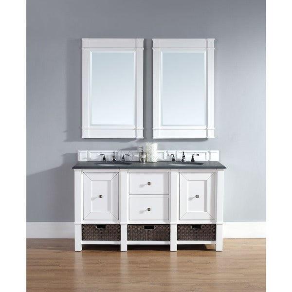 James Martin 60-inch White Bathroom Vanity